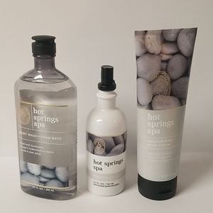 Bath and Body Work Aromatherapy Hot Spring Spa